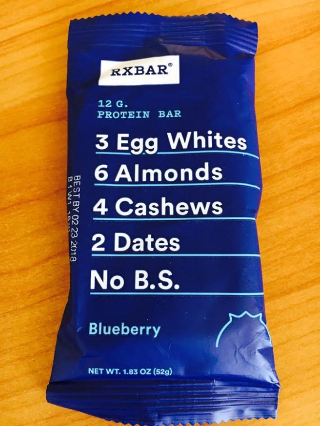 bluebery rx bar
