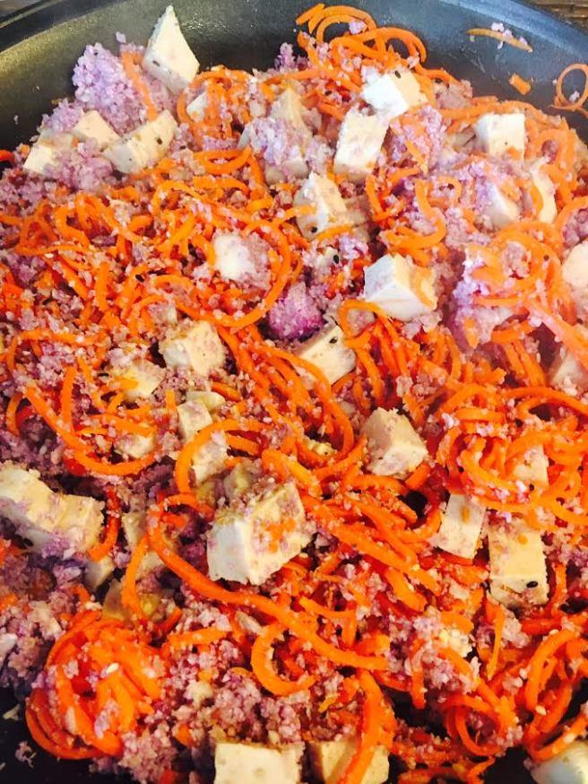 cauli carrot chicken - Copy