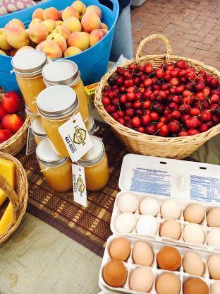 farmers market goodies