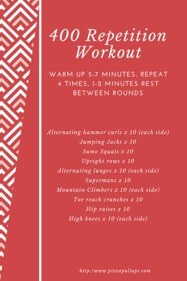 400 Repetition Workout