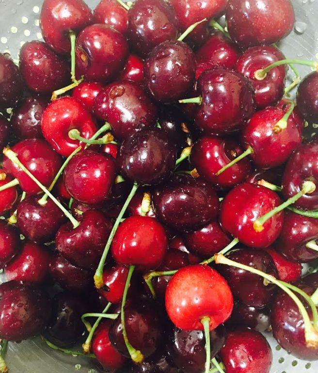 cherries june